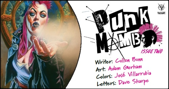 Punk Mambo #2 preview feature