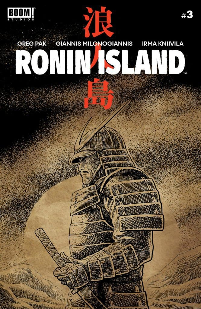 Ronin Island #3 - Preorder Cover