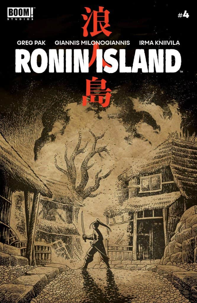 Ronin Island #4 - Preorder Cover