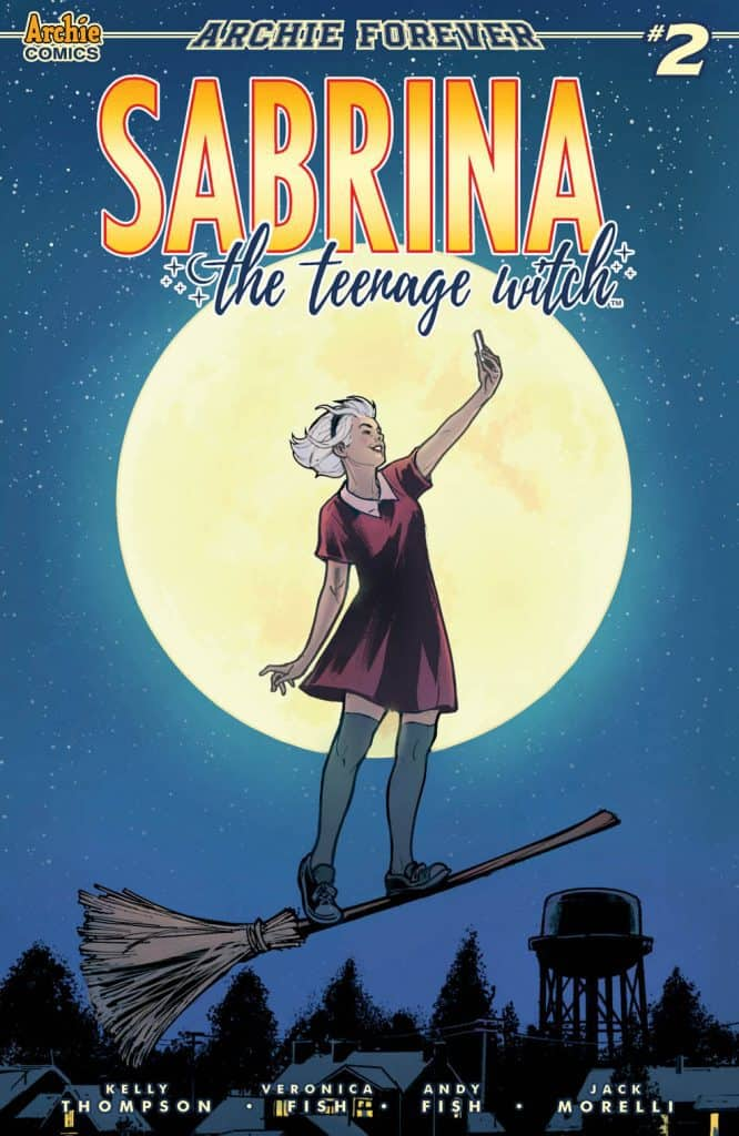 SABRINA THE TEENAGE WITCH #2 - Variant Cover by Victor Ibanez