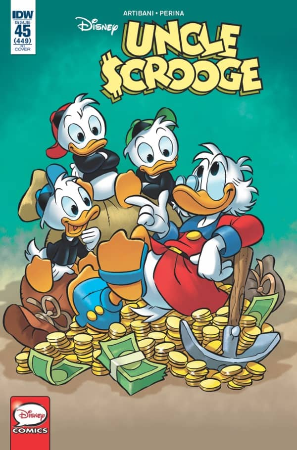 Uncle Scrooge #45 - Retailer Incentive Cover