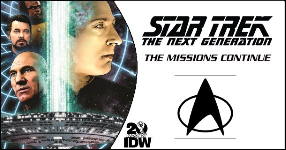 Star Trek The Next Generation – The Missions Continue HC preview feature