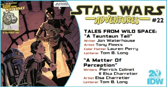 Star Wars Adventures #22 preview feature