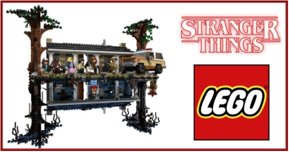 Stranger Things LEGO feature