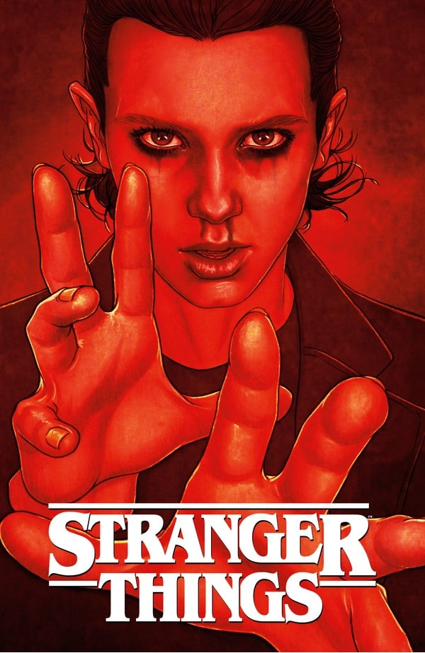 Stranger Things - Six #1 Dark Horse Direct Signed Exclusive Variant Cover by Jenny Frison