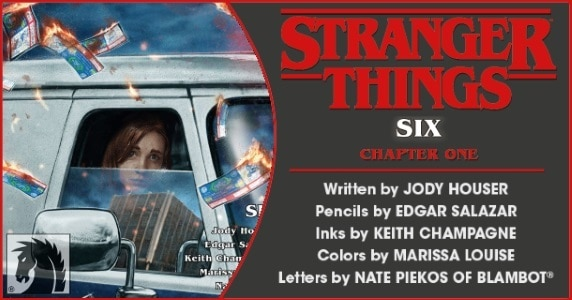 Stranger Things – Six #1 preview feature