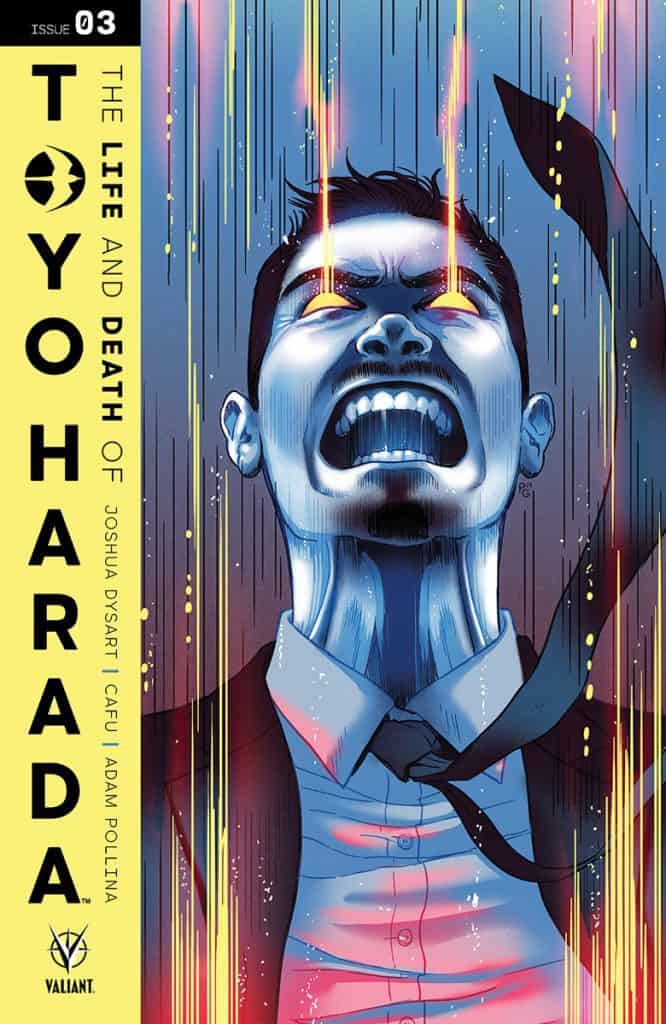 THE LIFE AND DEATH OF TOYO HARADA#3 - Cover B