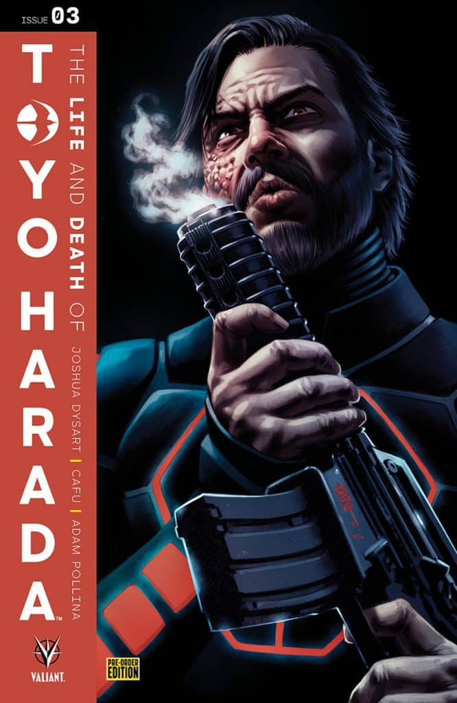 THE LIFE AND DEATH OF TOYO HARADA#3 - Pre-Order Cover