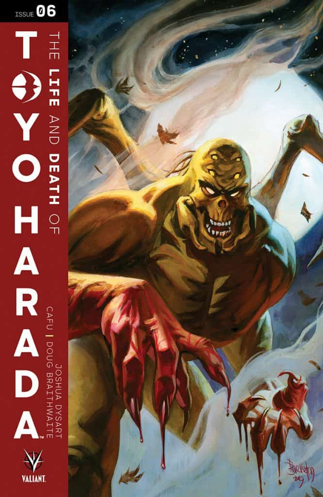 The Life and Death of Toyo Harada #6 - Cover B