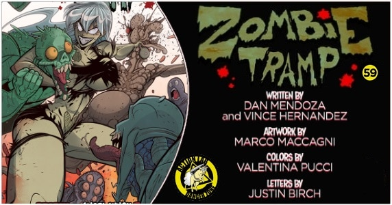 Zombie Tramp #59 preview feature