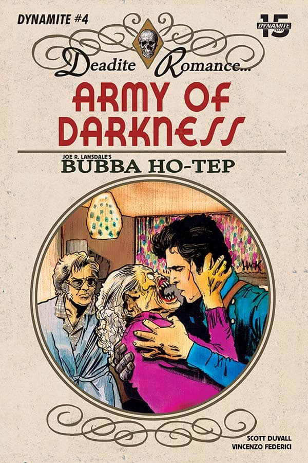 Army of Darkness vs. Bubba Ho-Tep #4 - Cover C