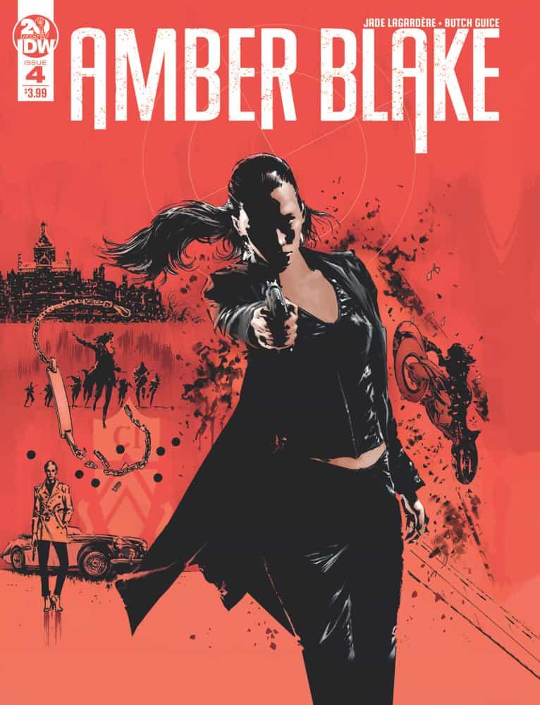 Amber Blake #4 - Cover A