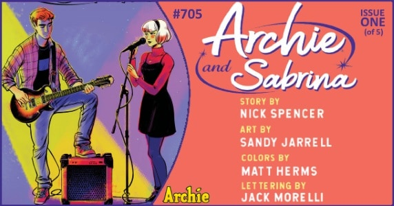 Archie #705 preview feature