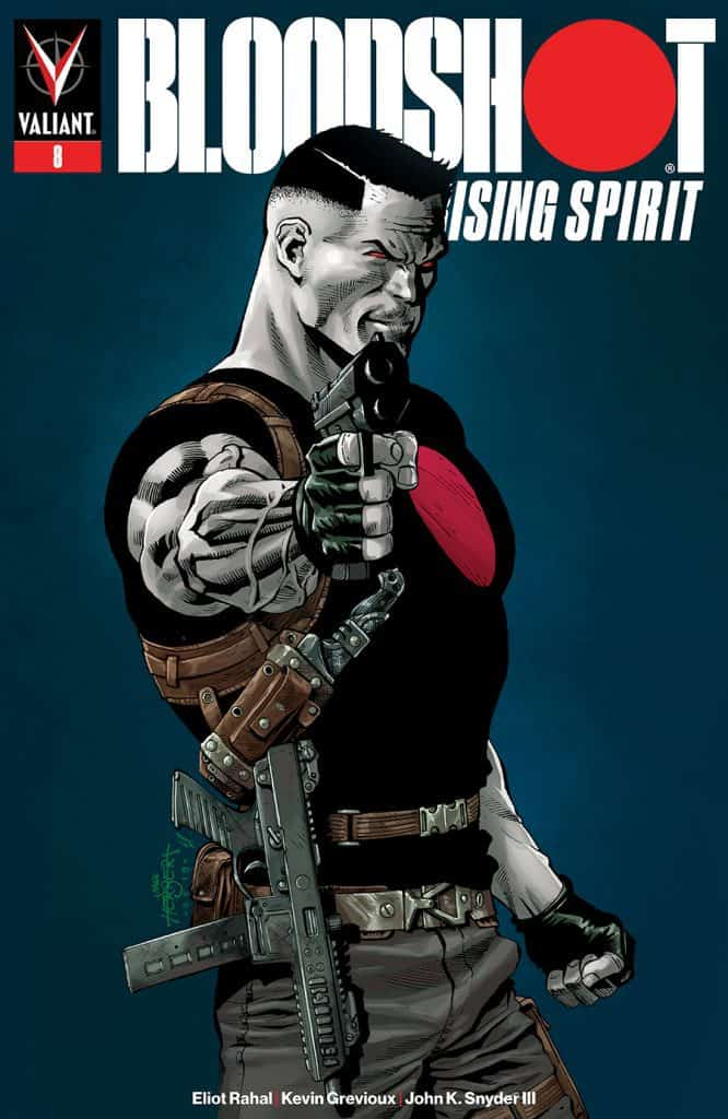 BLOODSHOT RISING SPIRIT #8 - Cover B