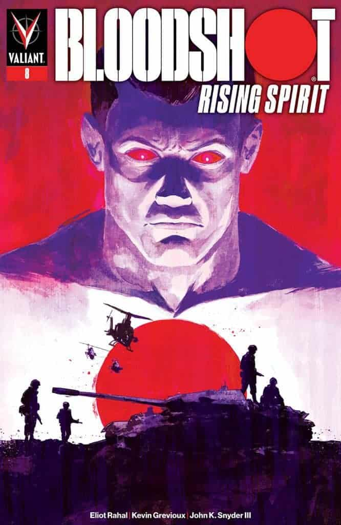 BLOODSHOT RISING SPIRIT #8 - Cover C