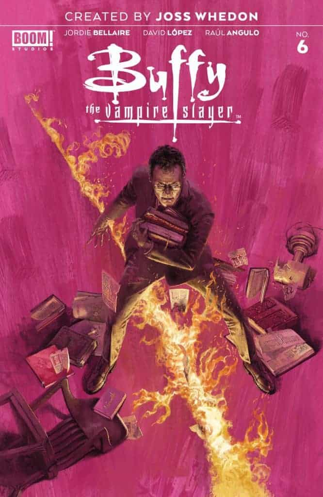 Buffy The Vampire Slayer #6 - Main Cover