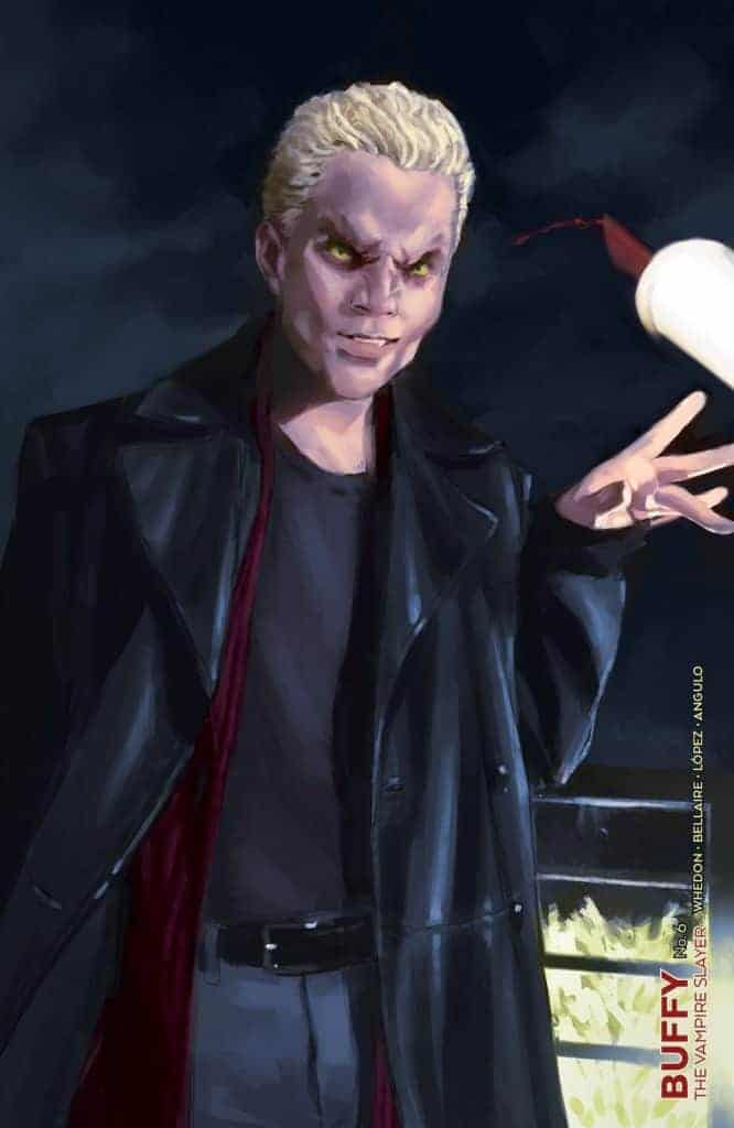 Buffy The Vampire Slayer #6 - Unlocked Vampire Variant