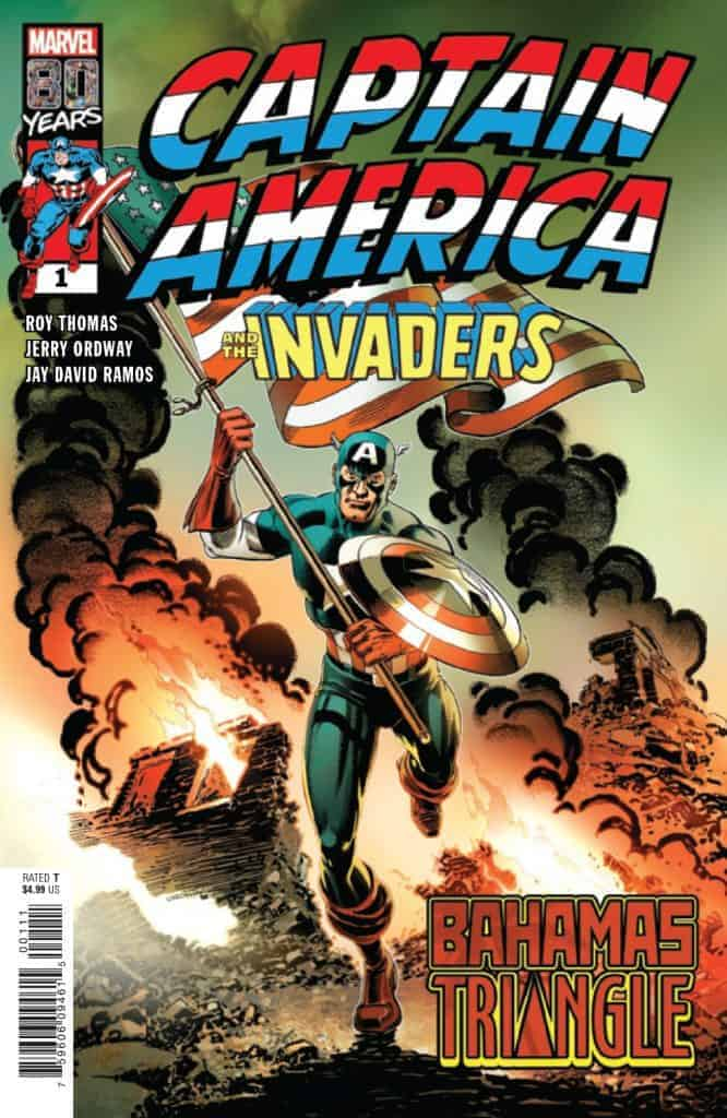 Captain America & the Invaders - Bahamas Triangle #1 Cover A