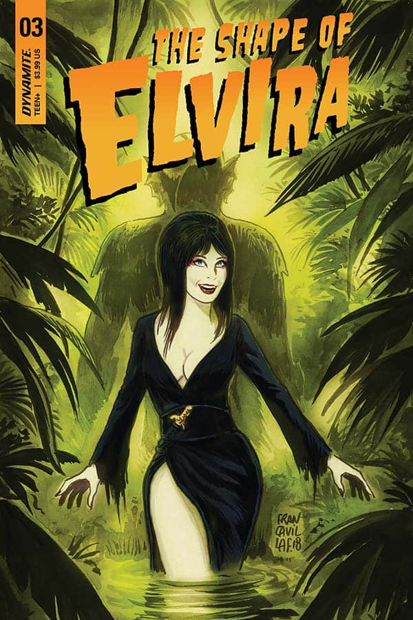 The Shape Of Elvira #3 - Cover A