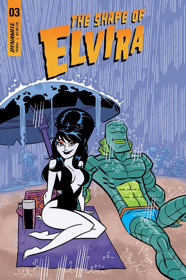 The Shape Of Elvira #3 - Cover B