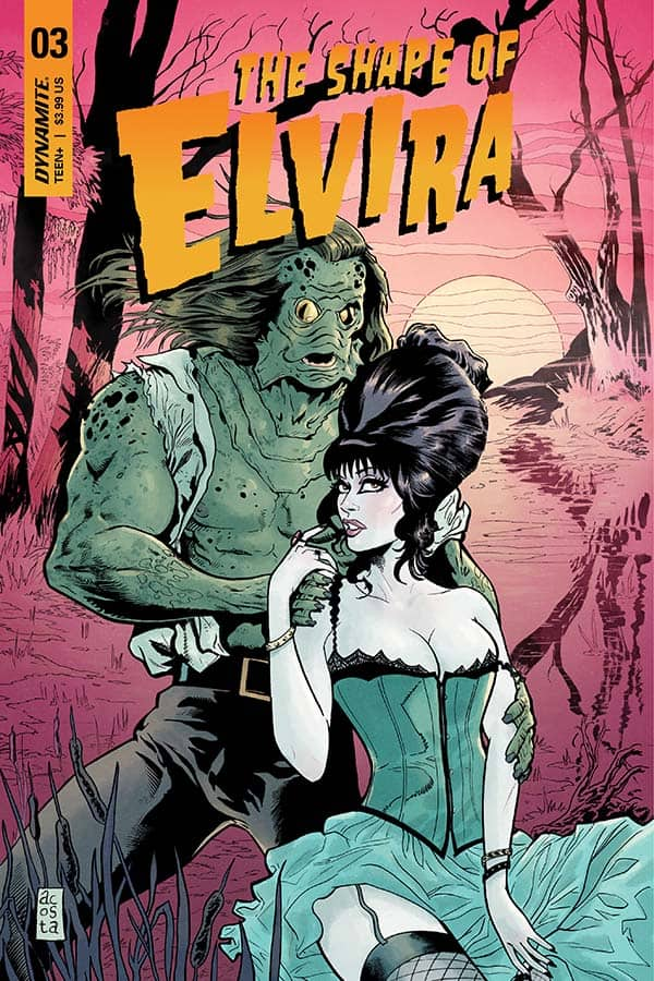 The Shape Of Elvira #3 - Cover C