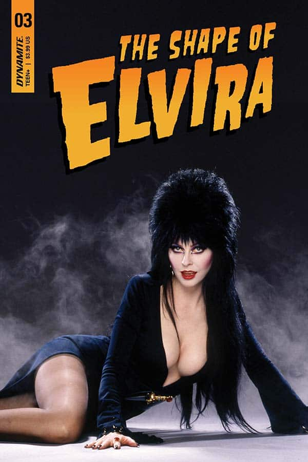 The Shape Of Elvira #3 - Cover D