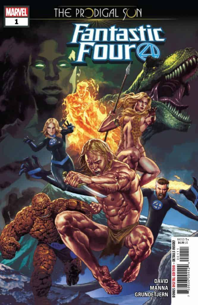 FANTASTIC FOUR THE PRODIGAL SUN #1 Cover A