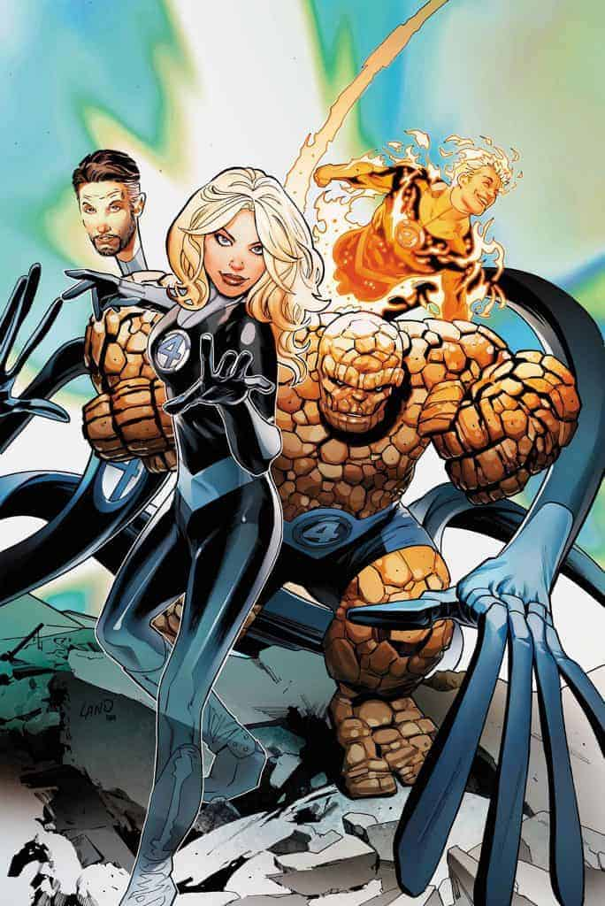 FANTASTIC FOUR THE PRODIGAL SUN #1 Cover B