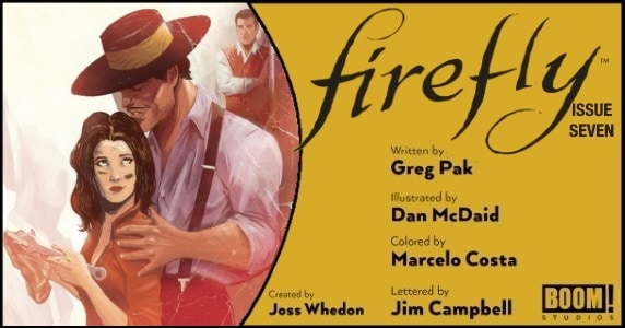 Firefly #7 preview feature