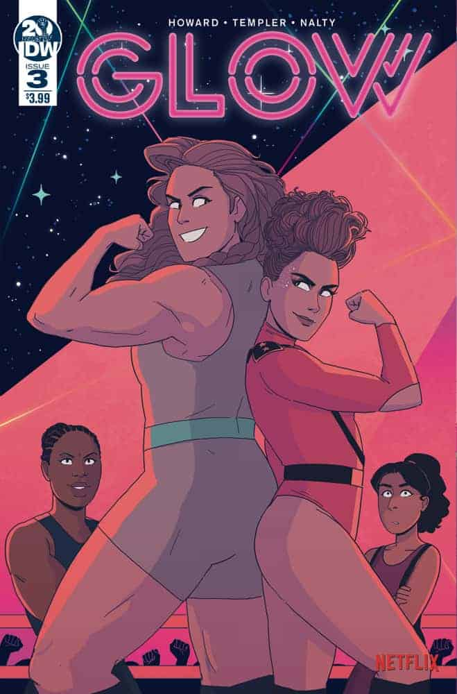 GLOW #3 Cover A
