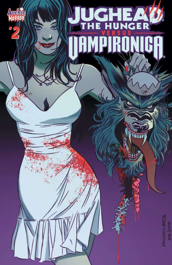 JUGHEAD THE HUNGER VS. VAMPIRONICA #2 -Main Cover