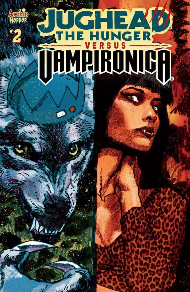 JUGHEAD THE HUNGER VS. VAMPIRONICA #2 -Variant Cover by Dan Panosian