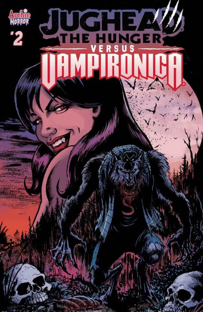 JUGHEAD THE HUNGER VS. VAMPIRONICA #2 -Variant Cover by Darick Robertson