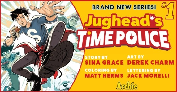 Jughead's Time Police #1 preview feature