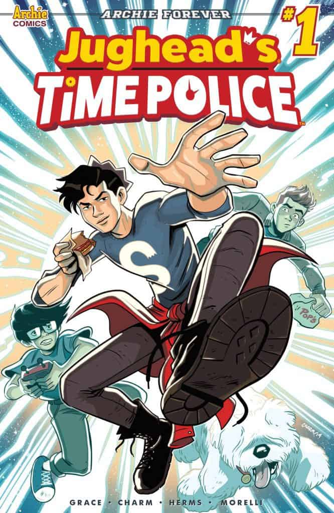 JUGHEAD'S TIME POLICE #1 - Main Cover by Derek Charm