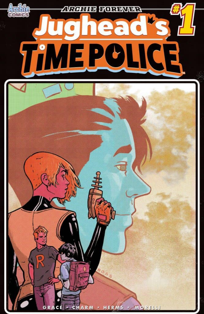 JUGHEAD'S TIME POLICE #1 - Variant Cover by Tyler Boss