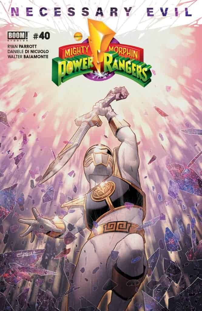 Mighty Morphin Power Rangers #40 - Main Cover