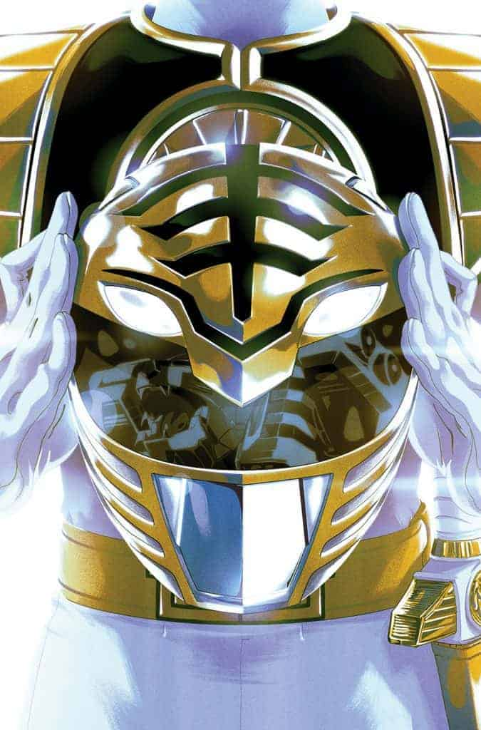 Mighty Morphin Power Rangers #40 - Preorder (Foil) Cover