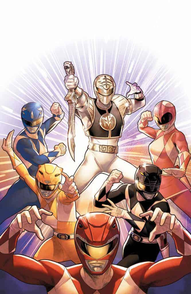 Mighty Morphin Power Rangers #40 - Unlocked Intermix Cover