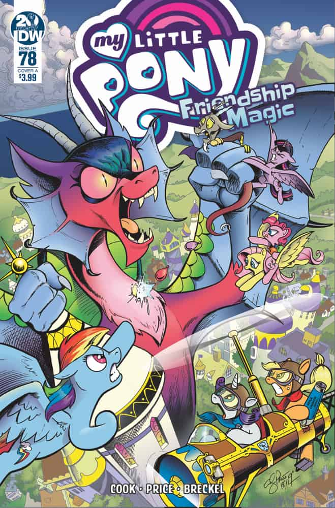 preview idw publishing's 612 release my little pony