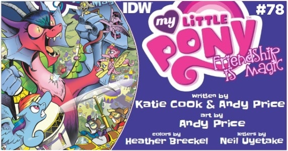 My Little Pony Friendship is Magic #78 preview feature