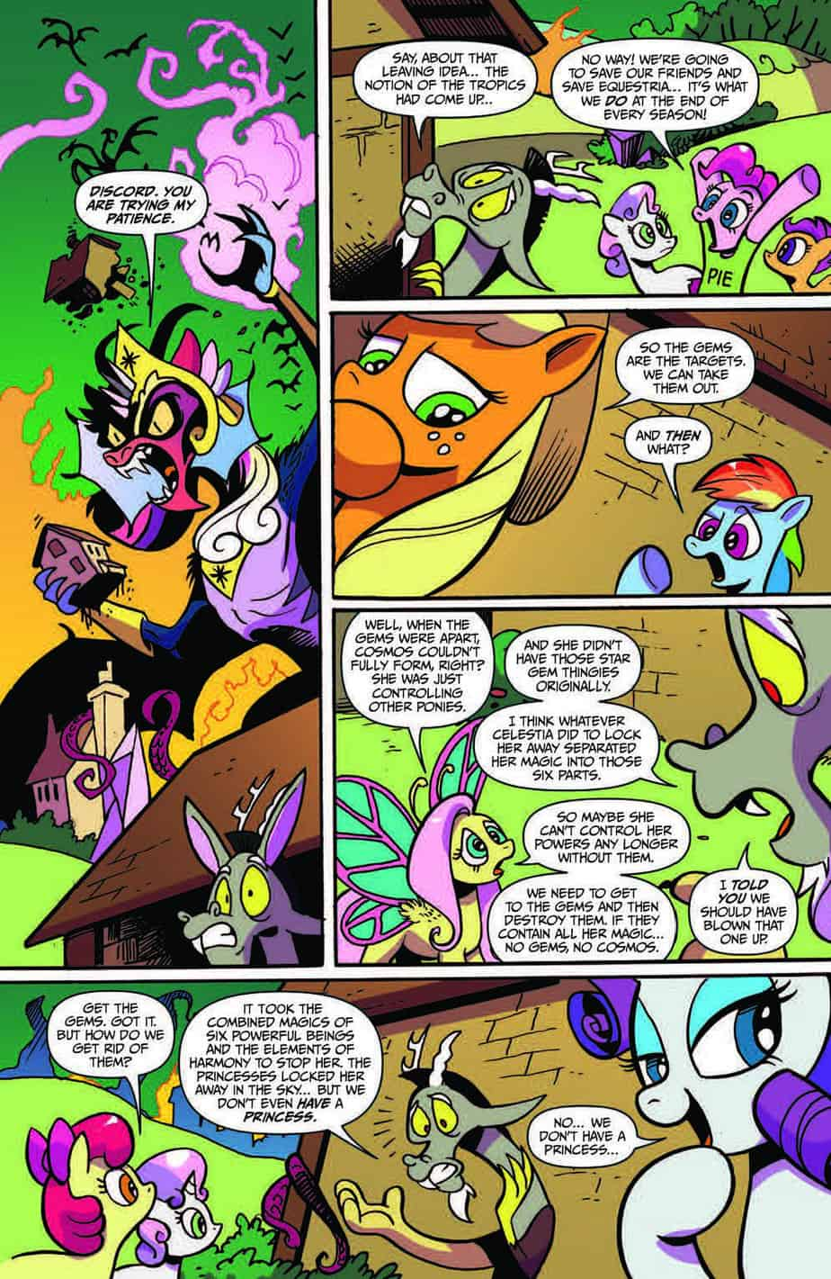 My Little Pony Friendship is Magic #78 preview page 6