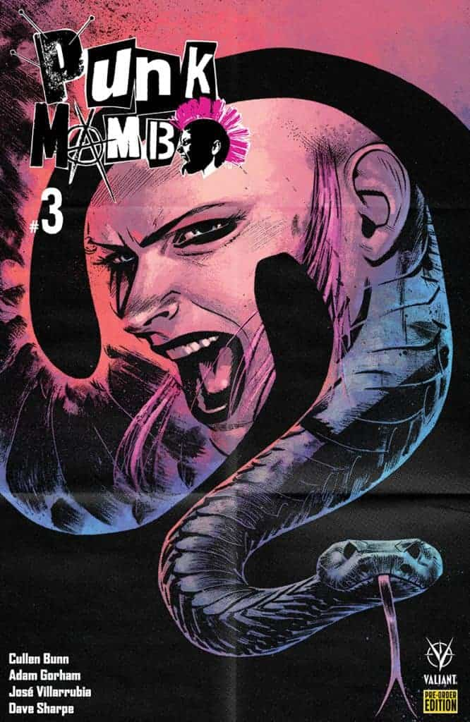 Punk Mambo #3 - Pre-Order Edition Variant