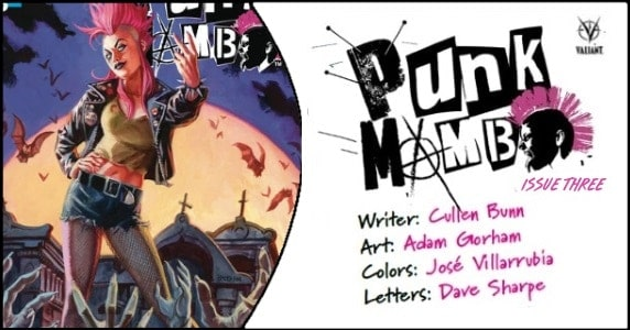 Punk Mambo #3 preview feature 1