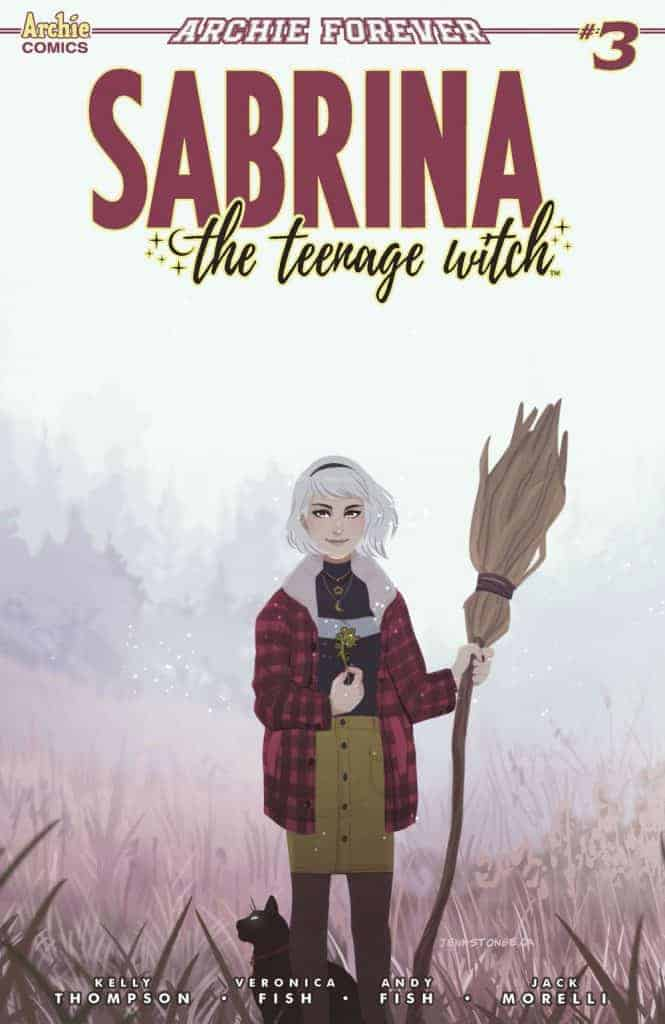 SABRINA THE TEENAGE WITCH #3 - Variant Cover by Jenn St.-Onge