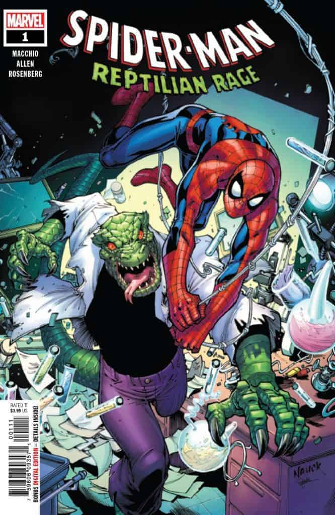 Spider-Man Reptilian Rage #1 - Main Cover by Todd Nauck