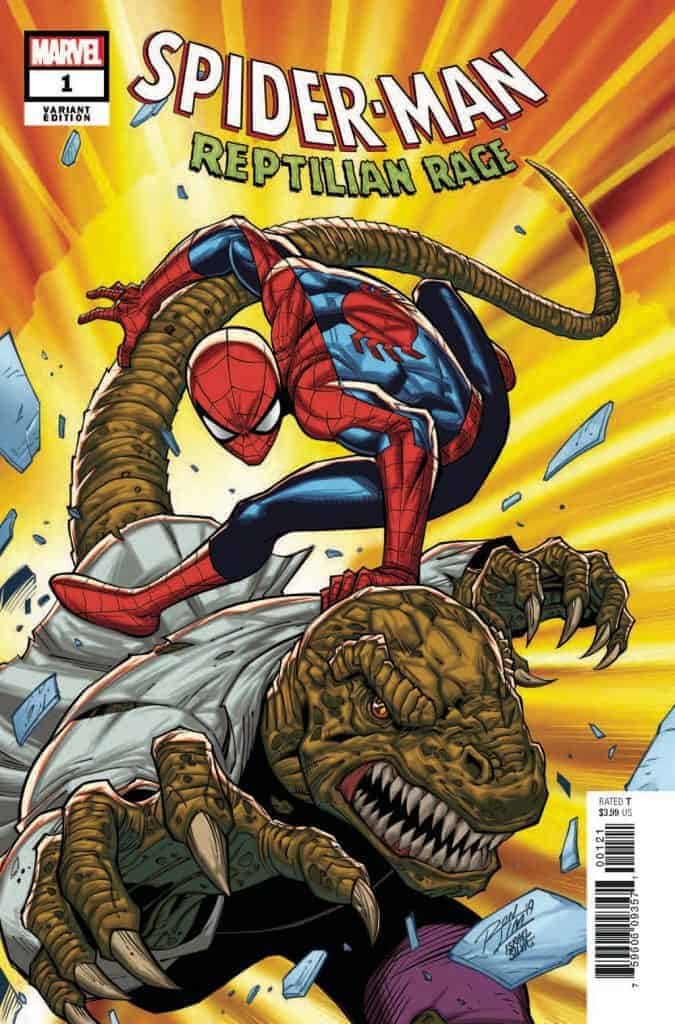 Spider-Man Reptilian Rage #1 - Variant Cover by Ron Lim