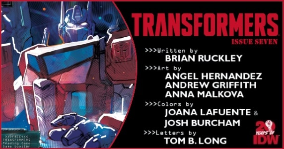 Transformers #7 preview feature
