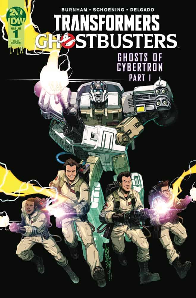 Transformers/Ghostbusters #1 Retailer Incentive Variant C