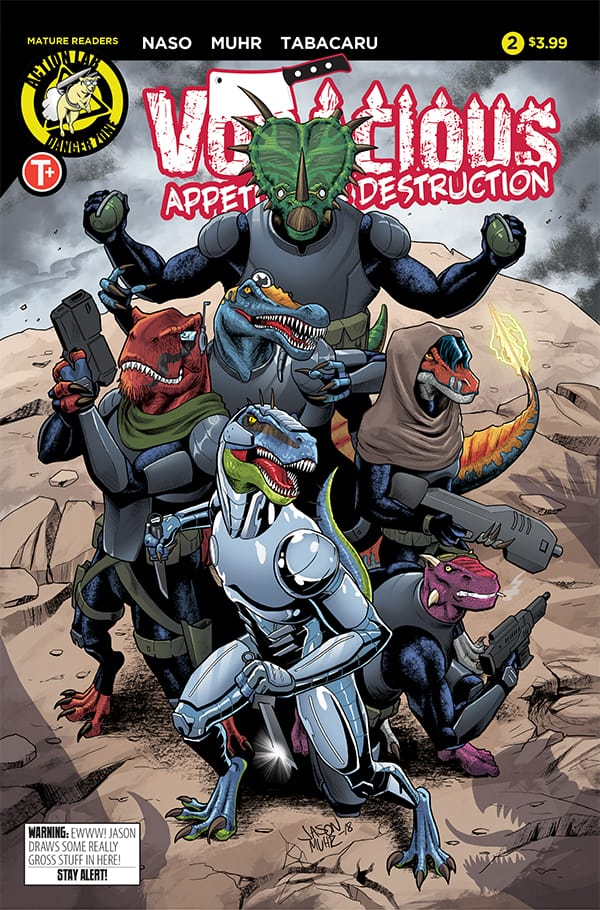 VORACIOUS: APPETITE FOR DESTRUCTION #2 - Cover A